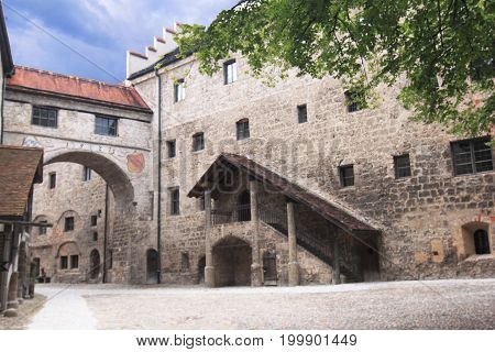Burghausen castle Austria, Burghausen castle Austria,Burghausen, border with austria, castle, fortress, monument, country, heights, bridge, ancient building, europe, state, houses, dwellings, characteristic, historic, history, dwelling, castle