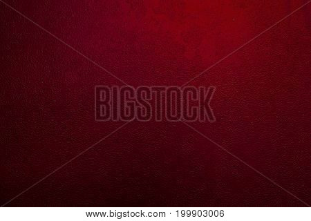 Background of a painted red iron metal sheet iron texture