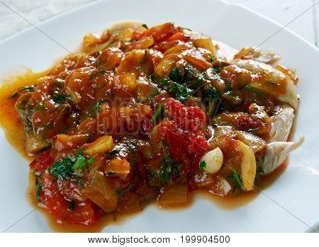 Turkish Stew With Chicken