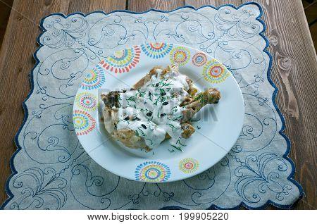Chkmeruli Chicken