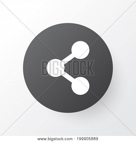 Premium Quality Isolated Social Element In Trendy Style.  Share Icon Symbol.