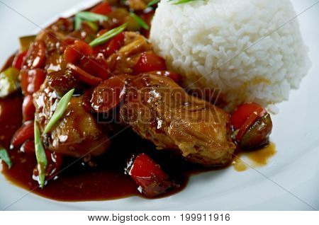Mutton Soy Sauce