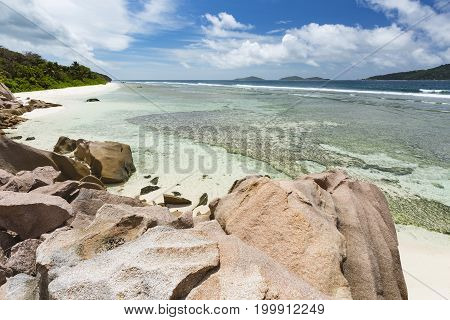 Anse Grosse Roche View, La Digue, Seychelles