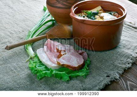 Sour Russian Soup