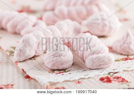 Homemade Pink Marshmallow