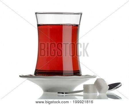 Black Tea Isolated