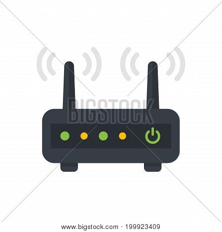 Router, modem vector illustration, eps 10 file, easy to edit