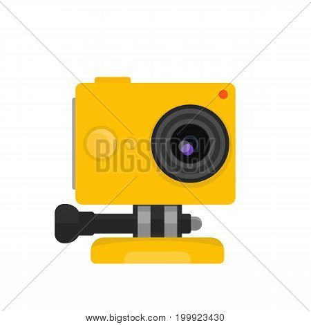 action camera vector illustration, eps 10 file, easy to edit