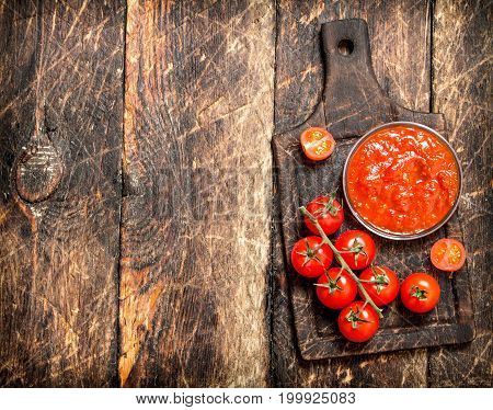 Sauce From Fresh Tomatoes.