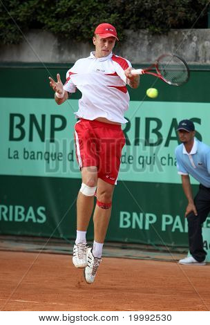 Nikola Ciric (srb) At Roland Garros 2011