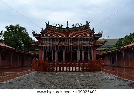 The Confucius - Chinese Temple