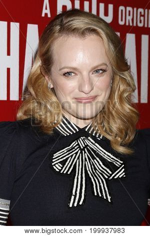 LOS ANGELES - AUG 14:  Elisabeth Moss at the FYC Event For Hulu's