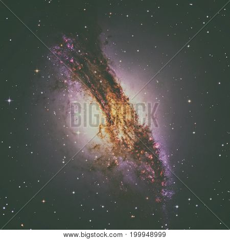 Centaurus A Is A Galaxy In The Constellation Of Centaurus.