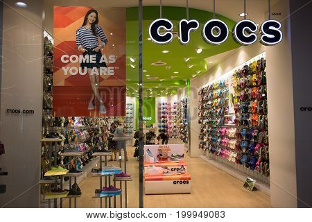 Crocs Shop In Central Festival Chiang Mai.