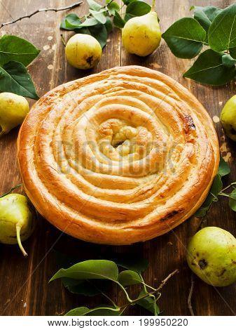 Sweet Pear Pie