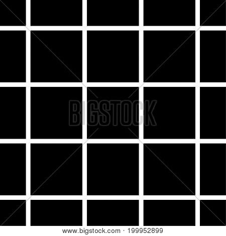 Pattern with the mesh, grid. Seamless vector background. Abstract geometric texture. Geometric motif Memphis style Digital paper for page fills, web designing, backdrops, backgrounds, cover