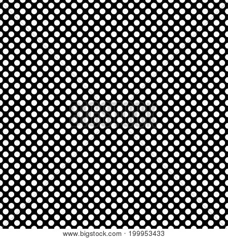 Polka dot seamless pattern. Dotted background with circles for printing on fabric, Wallpaper, textile design covers. Vector illustration