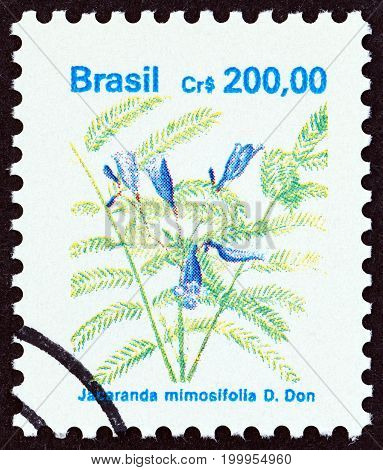 BRAZIL - CIRCA 1990: A stamp printed in Brazil from the