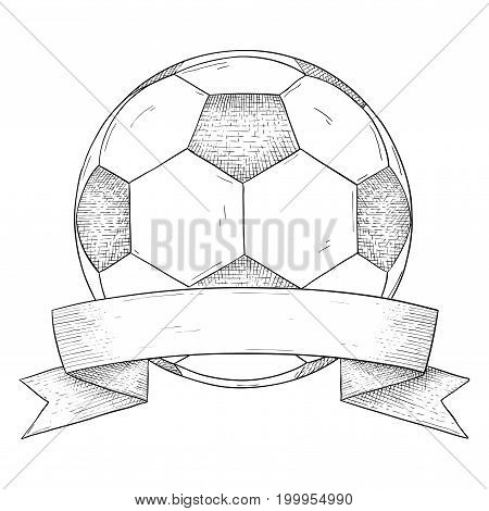 Hand drawn sketch. Vector illustration isolated on white background