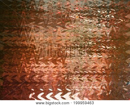 abstract background zigzag line with brown effect.