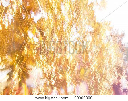 Abstract background of the bright light in party at night.
