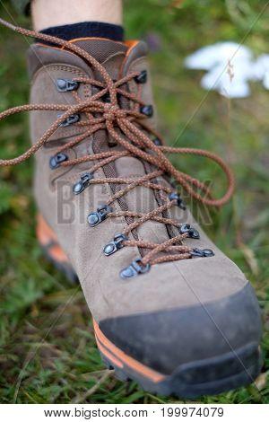 Tourist boot travel survival trekking summer outdoor