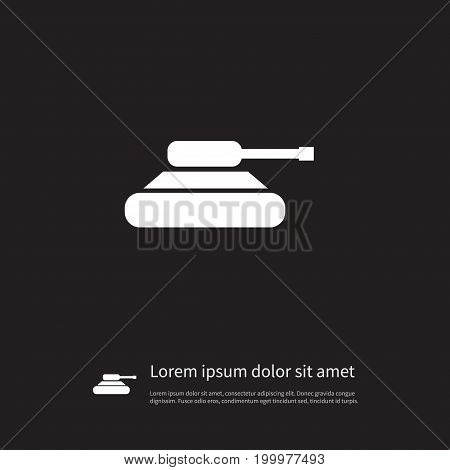 Troops Vector Element Can Be Used For Artillery, Warfare, Troops Design Concept.  Isolated Warfare Icon.