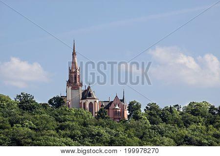 Rochus chapel near Bingen Rhineland Palatinate Germany