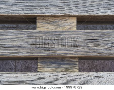 Natural Wooden Crossed Pallet Plank Board Background