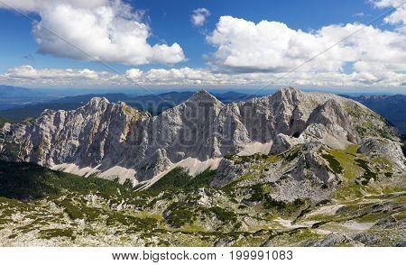 Mountain valley Krma in Triglav National Park, Slovenia, Europe