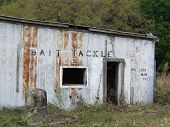abandoned bait shop in rural Florida poster