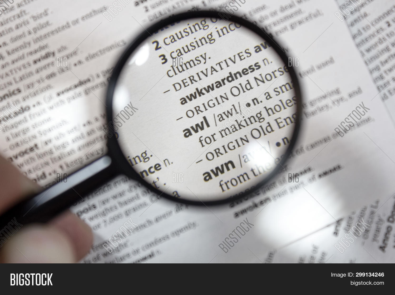 Word Phrase Awl Image & Photo (Free Trial) | Bigstock