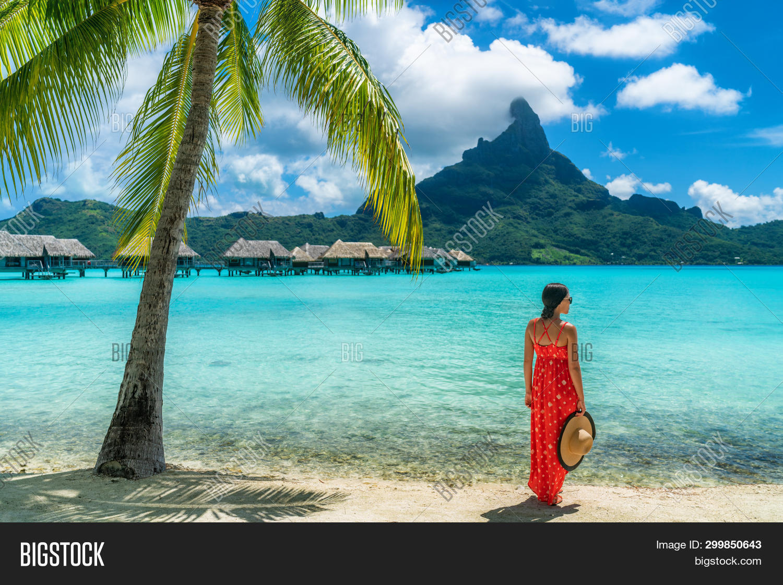 Bora Bora Luxury Hotel Image Photo Free Trial Bigstock