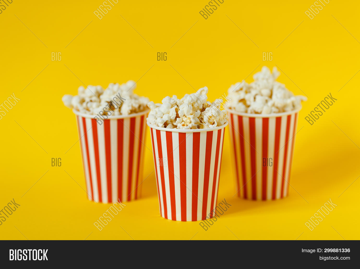 Three Carton Bucket Image Photo Free Trial Bigstock