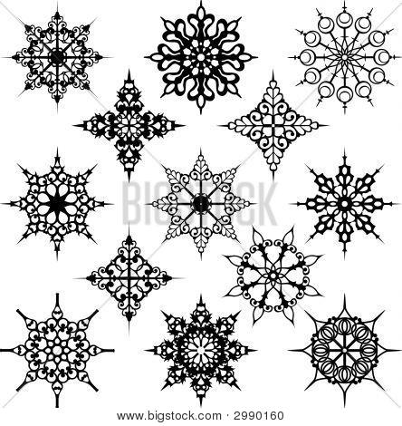 Various Ornate Design Elements