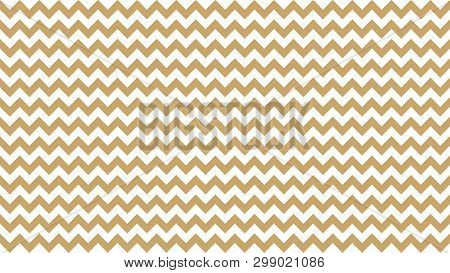 Serrated Striped Brown Pastel Color For Background, Art Line Shape Zig Zag Brown Color, Wallpaper St