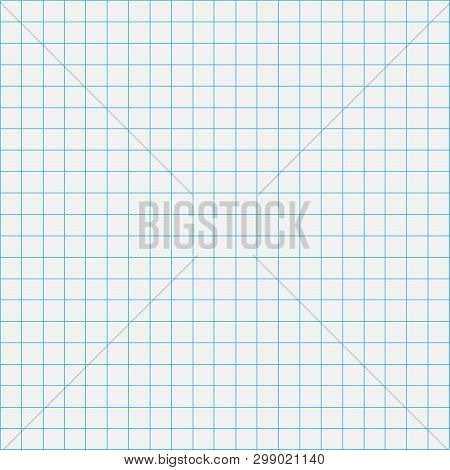Grid Square Graph Line Full Page On Grey Paper Background, Paper Grid Square Graph Line Texture Of N