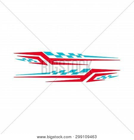 Car Bike Vehicle Graphics, Vinyls Decals - Vector