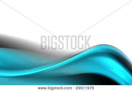 blue waves illustration no: 11