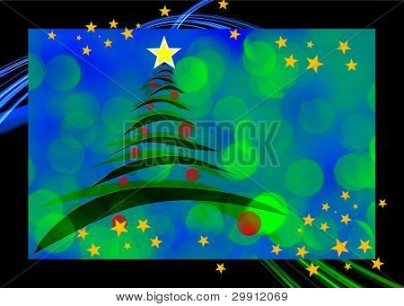 christmas greeting card design 1