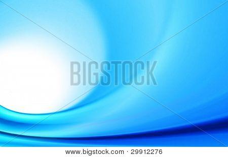 blue waves illustration