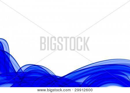 wavy curves background