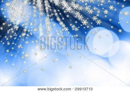 christmas and winter snow theme background