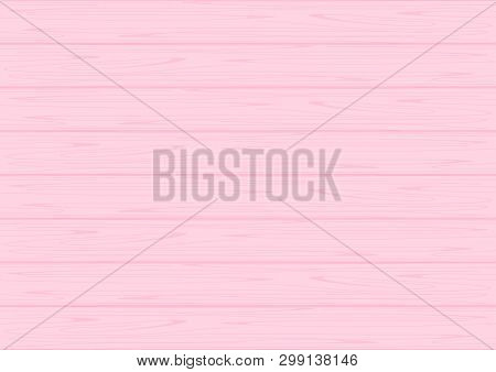 Wooden Wall Pink Pastel Color For Background, Wood Plank Background Pink Colors Pastel Soft, Texture