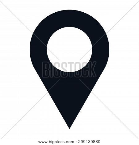 Location Icon Isolated On White Background. Location Icon In Trendy Design Style. Location Vector Ic