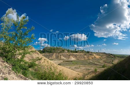 Landscape With Rocks And Sky