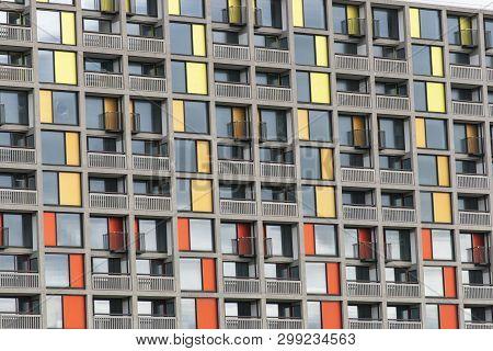 Park Hill Housing Estate Regenerated By Urban Splash In Sheffield - Sheffield, United Kingdom - 13th