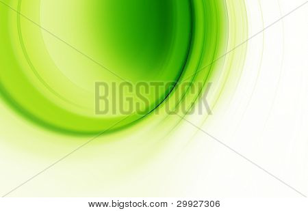 abstract background curves green