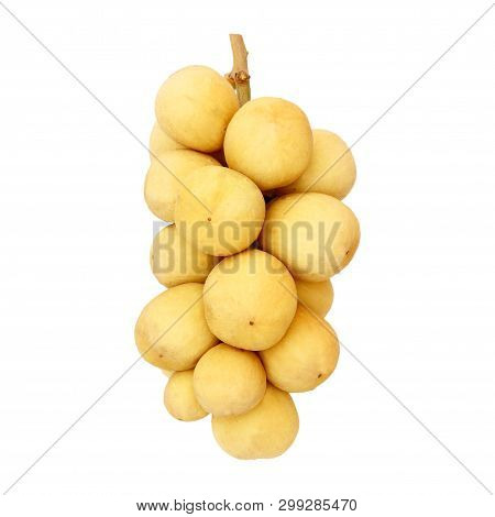 Wollongong Fruit Isolated On The White Background