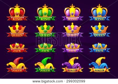 Playing Cards Icons Vector & Photo (Free Trial) | Bigstock